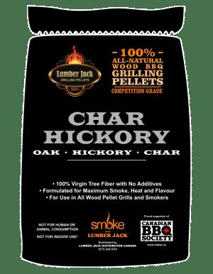 Lumber Jack Pellets - Char Hickory