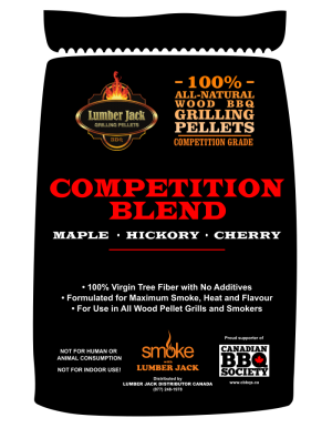 Lumber Jack Pellets - Competition Blend