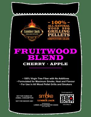 Lumber Jack Pellets - Fruitwood Blend