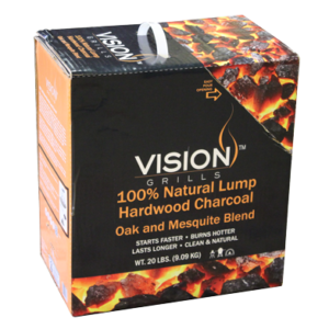 Vision Hardwood Lump Charcoal Box