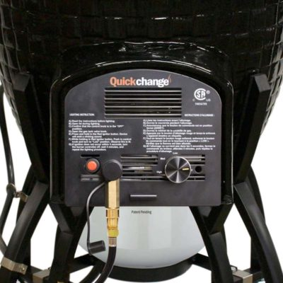 Icon Kamado QuickChange Propane attachment