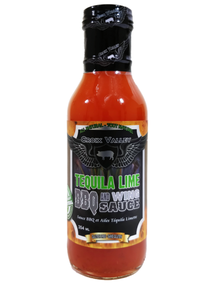 Croix Valley Tequila Lime BBQ and Wing Sauce