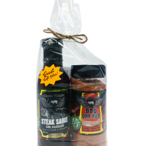 Croix Valley Gift Set - Steak Sauce and Cattle Drive