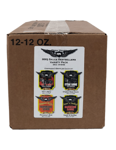 Croix Valley Foods Variety Pack BBQ and Wing Sauce