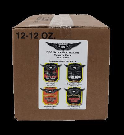 Croix Valley Foods BBQ Sauce Bestsellers Variety Pack