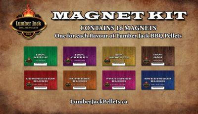 Lumber Jack Flavour magnet kit