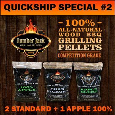 Lumber Jack BBQ Pellets Quickship Special
