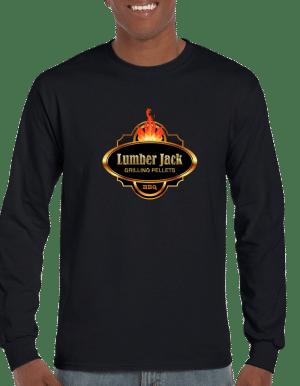 Lumber Jack Long Sleeve Tshirt Vibrant LargeLogo (2400)