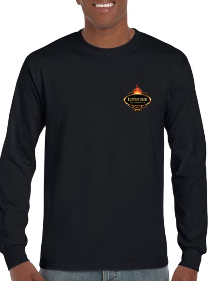Lumber Jack Tshirt Long Sleeve Vibrant SmallLogo (2400)