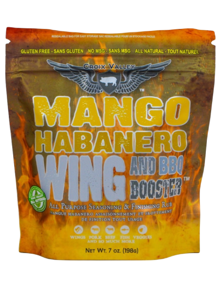 Croix Valley Mango Habanero Wing & BBQ Booster1