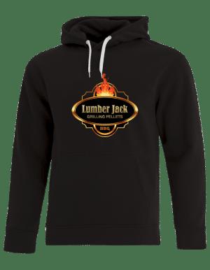 Lumber Jack Hooded Sweatshirt Vibrant LargeLogo (F2016)-