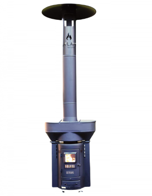 Q-Flame portable patio heater and grill