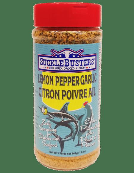 Sucklebusters Lemon Pepper Garlic
