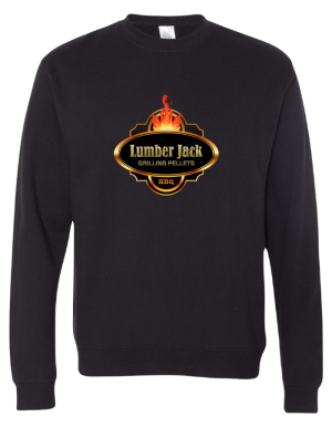 Lumber Jack Midweight Sweatshirt Vibrant LargeLogo (SS3000)