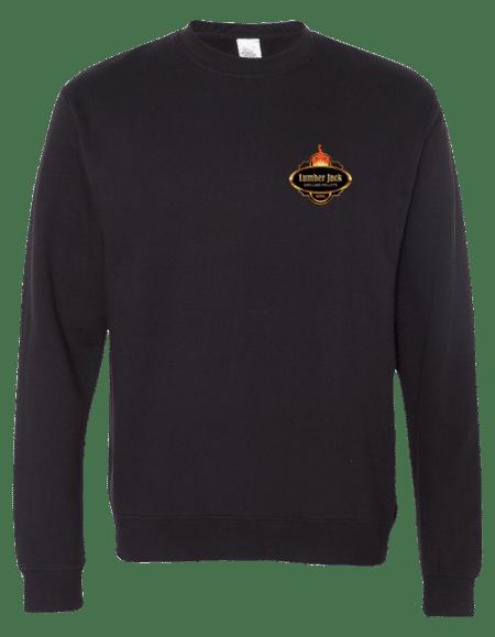 Lumber Jack Midweight Sweatshirt Vibrant SmallLogo (SS3000)