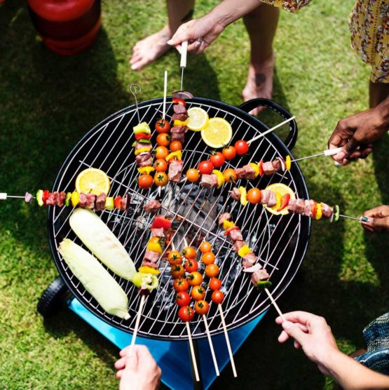 Aerial Barbecue