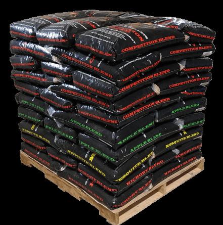 Full Skid of Lumber Jack BBQ Pellets