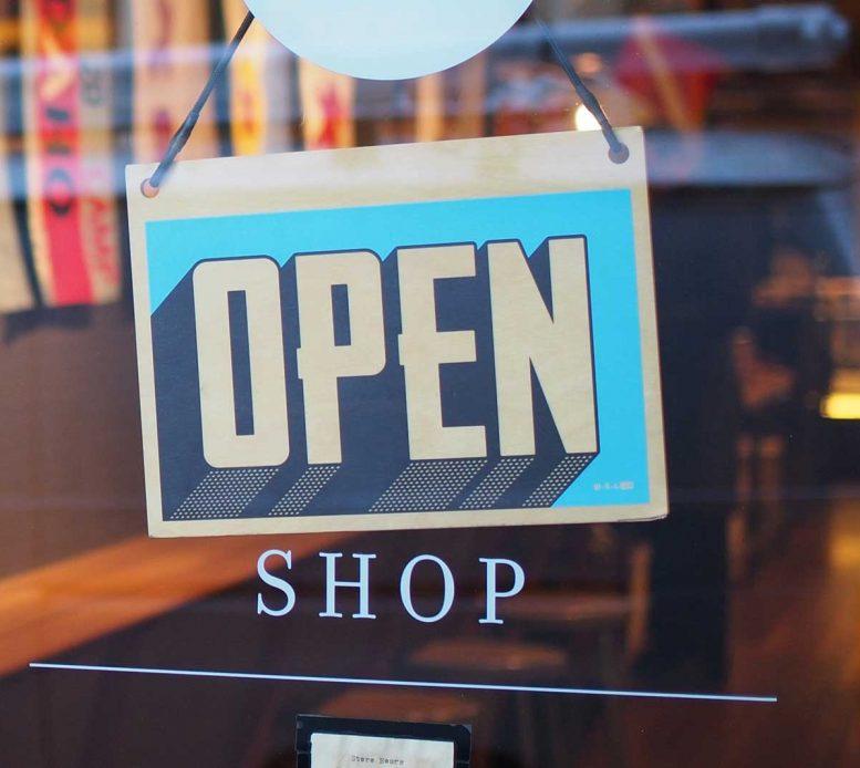 Retail Shop Open